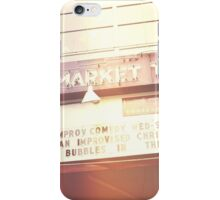 Market Theater iPhone Case/Skin