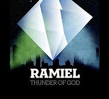 Neon Genesis Evangelion - Ramiel angel by spiceboy