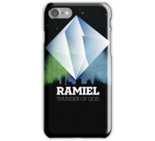 Neon Genesis Evangelion - Ramiel angel iPhone Case/Skin