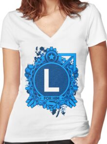 FOR HIM - L Women's Fitted V-Neck T-Shirt