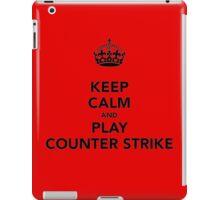 Keep Calm and Play Counter Strike iPad Case/Skin