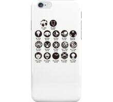 Neon Genesis Evangelion art iPhone Case/Skin