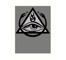 The Order of the Triad (The Venture Brothers) - No text! Art Print