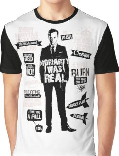 Good Old Fashioned Villain Quotes Graphic T-Shirt