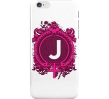 FOR HER - J iPhone Case/Skin