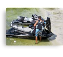 Lake Toys For Big Girls and Boys Canvas Print