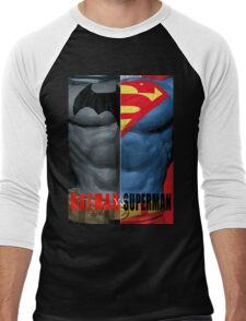 Batman vs Superman 2 Men's Baseball ¾ T-Shirt