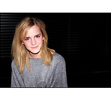 Emma Watson is 100% cute Photographic Print