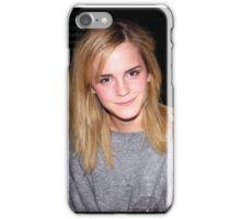 Emma Watson is 100% cute iPhone Case/Skin