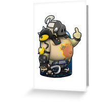 OVERWATCH ROADHOG Greeting Card