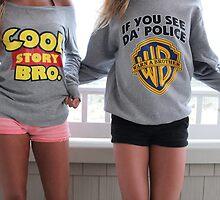 Our fab sweatshirts by cjcooper