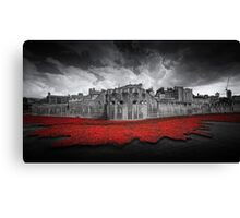Tower of London Remembers.  Canvas Print