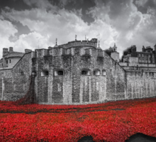 Tower of London Remembers.  Sticker