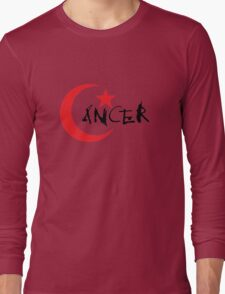 C*ancer (Light background) Long Sleeve T-Shirt