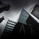 London Skyscrapers by Ian Hufton