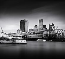 London Skyline / Cityscape by Ian Hufton