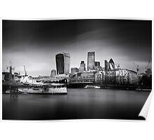 London Skyline / Cityscape Poster
