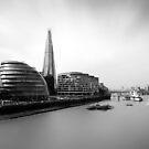 The Shard View London by Ian Hufton