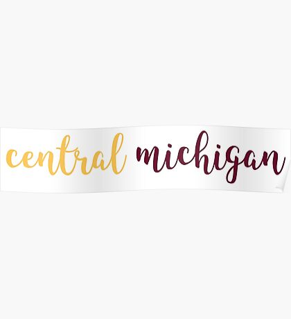 Central Michigan Poster