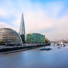 A Thames View - London by Ian Hufton