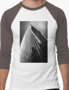 London Walkie Talkie Skyscraper Men's Baseball ¾ T-Shirt
