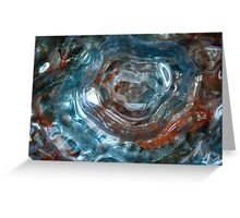 Art Glass Greeting Card