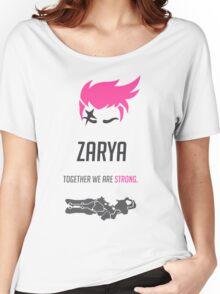 OVERWATCH ZARYA Women's Relaxed Fit T-Shirt