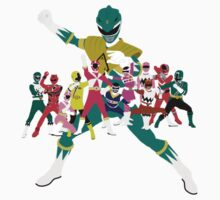 Power Rangers Super Mega Force Legendary Rangers by simplepete