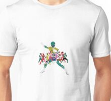 Power Rangers Super Mega Force Legendary Rangers Unisex T-Shirt