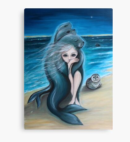 The Selkie Canvas Print