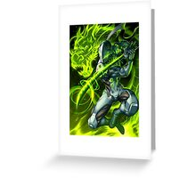 OVERWATCH GENJI Greeting Card