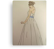 Wedding Dress No 1 Canvas Print