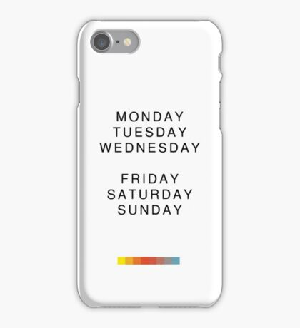 The Weeknd - Thursday iPhone Case/Skin