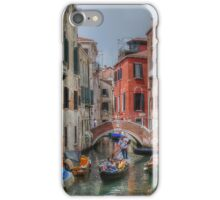 Boats and bridges.... in Venice iPhone Case/Skin