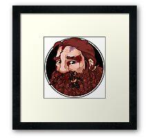 Dwarf Fighter (Injured) Framed Print