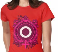 FOR HER - O Womens Fitted T-Shirt