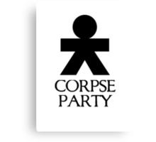 Corpse Party black Canvas Print