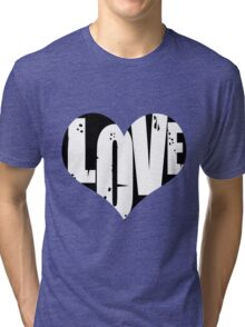Love in Heart Tri-blend T-Shirt