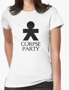 Corpse Party black Womens Fitted T-Shirt