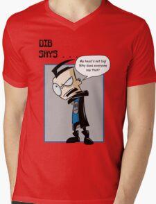 My head's not big! Mens V-Neck T-Shirt