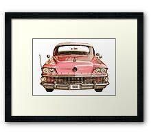 Classic Buick 1958 Century Car Framed Print