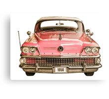 Classic Buick 1958 Century Car Canvas Print