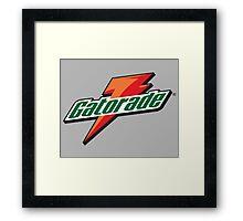 Gatorade Framed Print