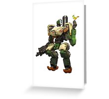 OVERWATCH BASTION Greeting Card