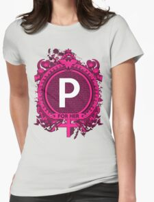 FOR HER - P Womens Fitted T-Shirt
