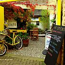 'Magical Cafe' in Totnes, Devon by Charmiene Maxwell-Batten