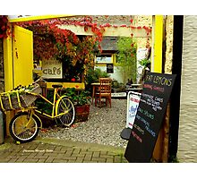 'Magical Cafe' in Totnes, Devon Photographic Print