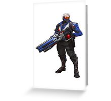 OVERWATCH 76 Greeting Card