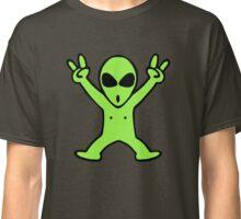 alien roswell cartoon Classic T-Shirt
