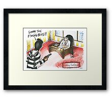 Cockney Confusion Framed Print